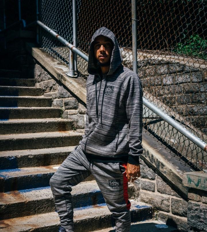Ewing Athletics sweatshirt sweatpants black