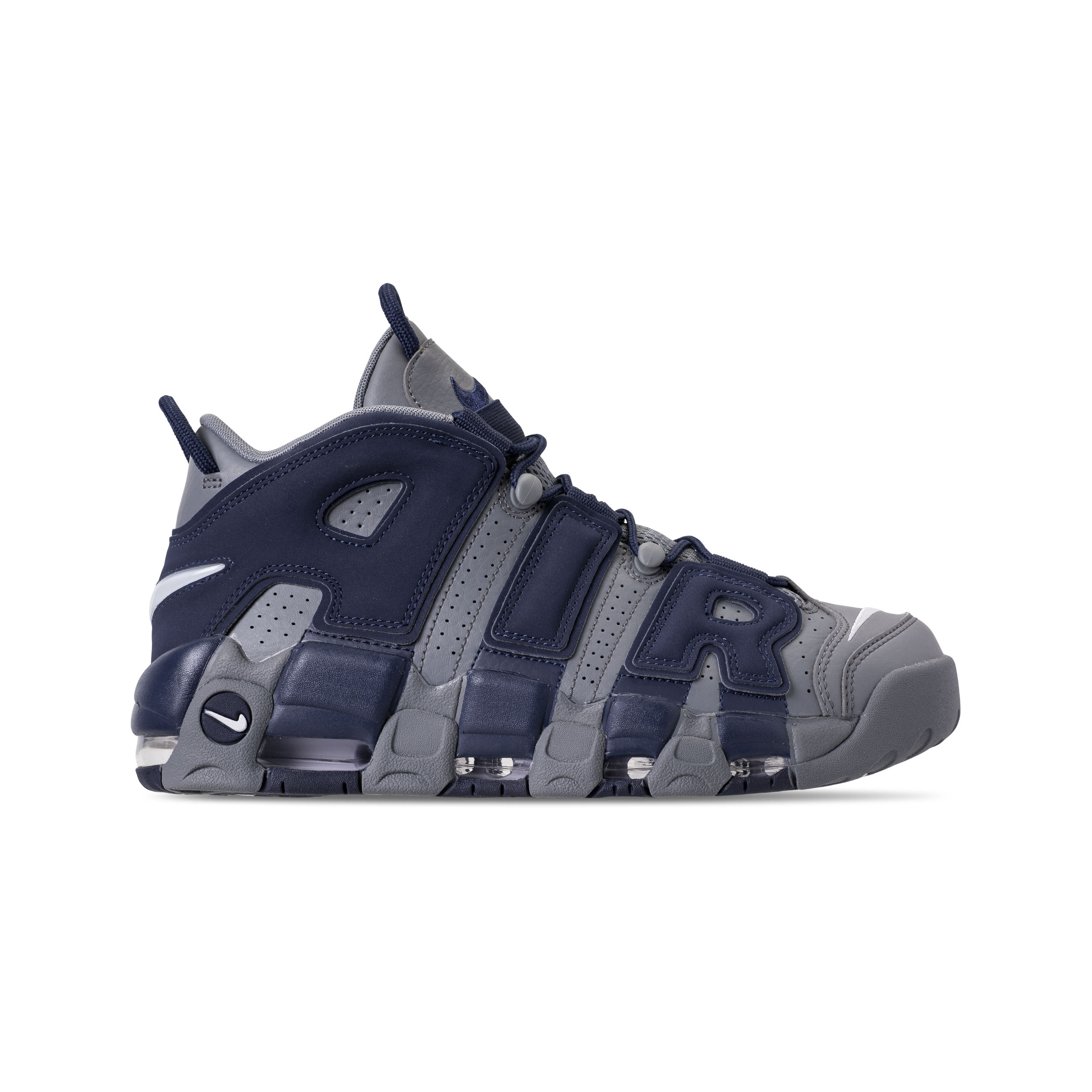 7fd7a316a1 NIKE AIR MORE UPTEMPO '96 COOL GREY:WHITE-MIDNIGHT NAVY 2 - WearTesters