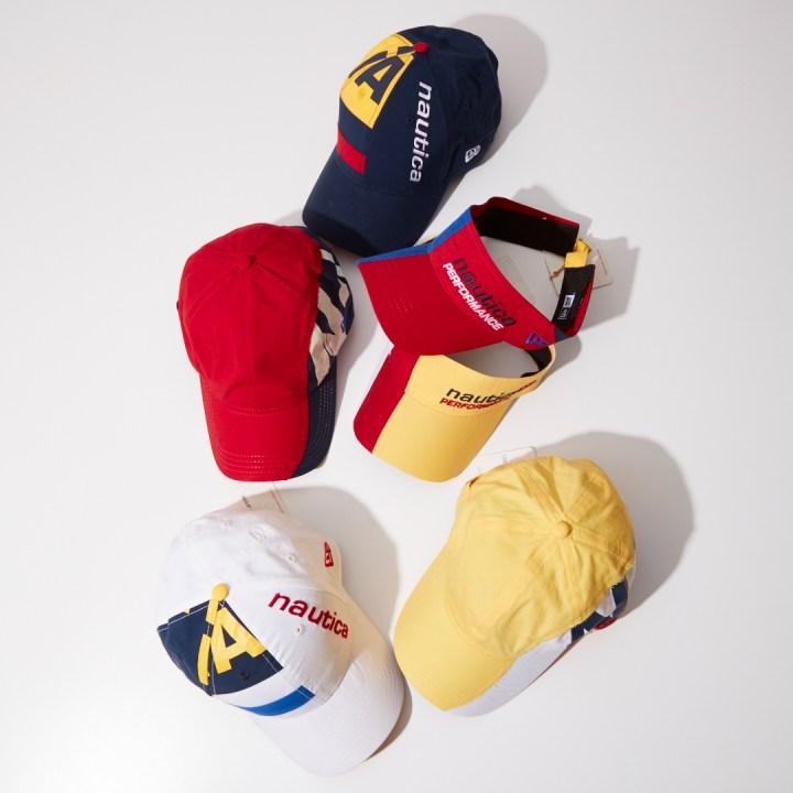 New Era cap x nautica hydro race collection