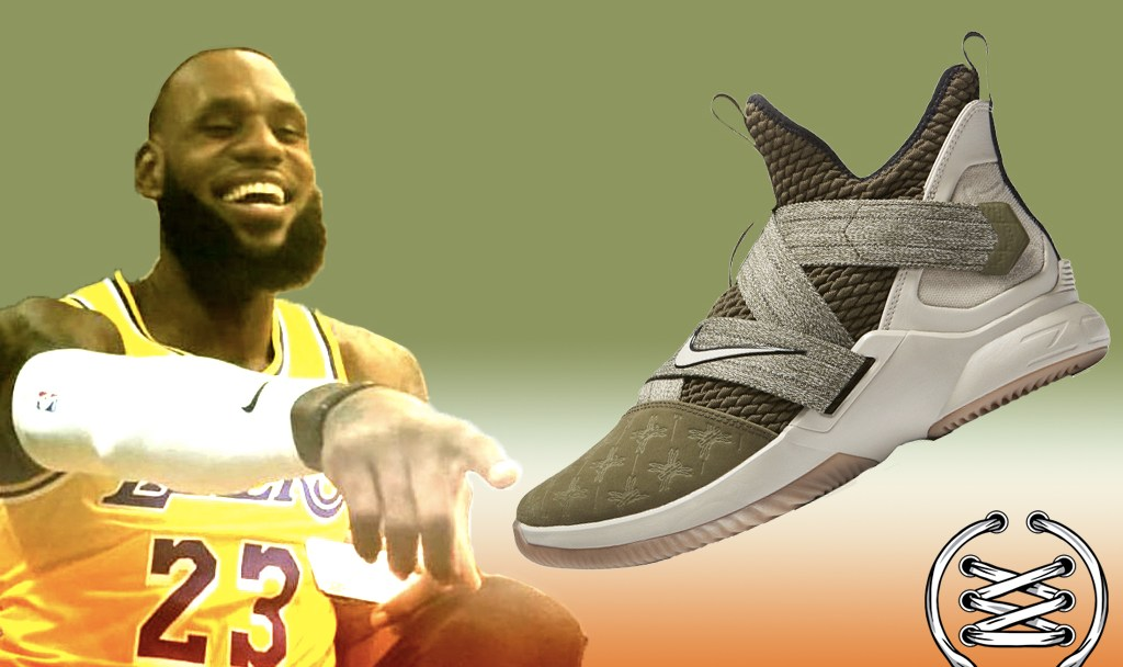 Nike LeBron Soldier 12 Olive FEATURED IMAGE