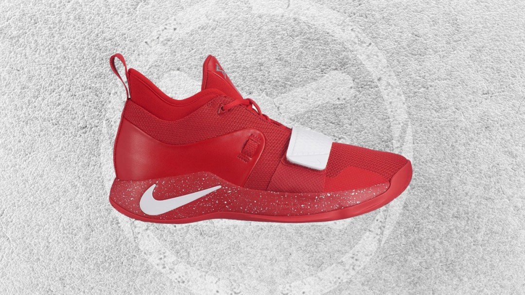 612f88880118 This Nike PG 2.5  University Red  is an Homage to Paul George s Alma ...
