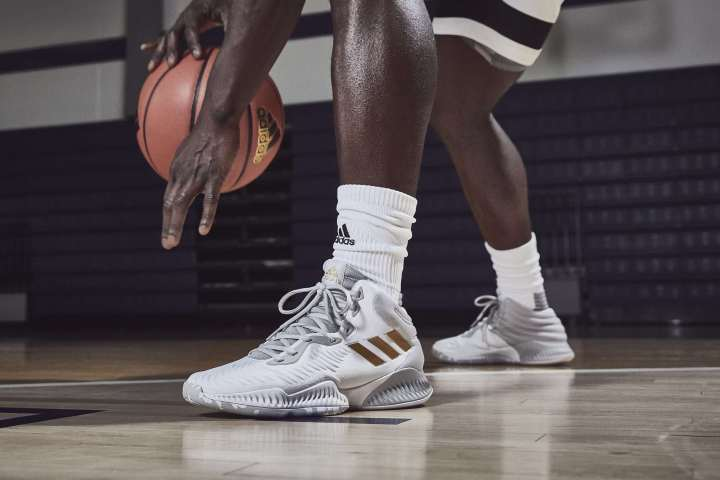 adidas mad bounce white gold
