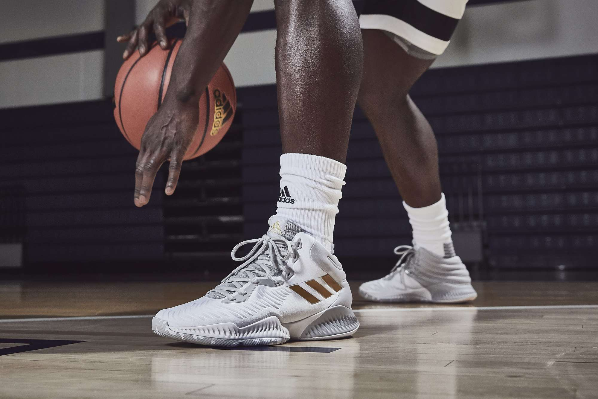 e23c5214c adidas mad bounce white gold - WearTesters
