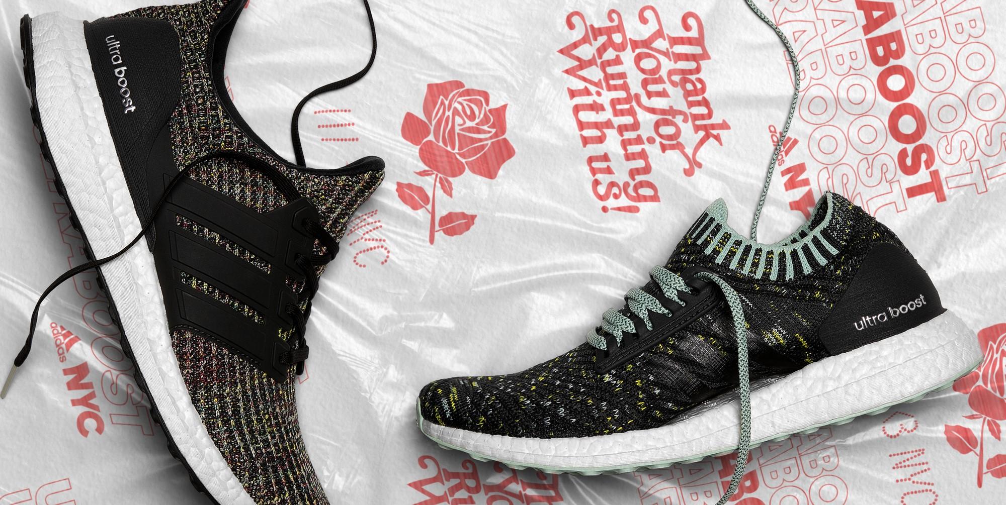 Nueva York es Bodegas inspirar multicolor Adidas ultra Boost NYC Pack