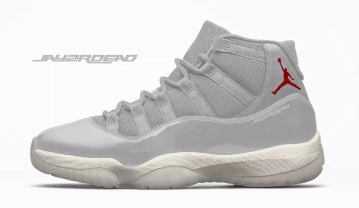 f2f1d86e64a0 New Air Jordan 11  Platinum Tint  Leaks Online - WearTesters