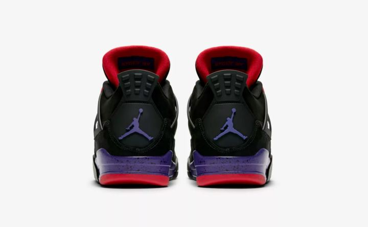 air jordan 4 black court purple release date 2