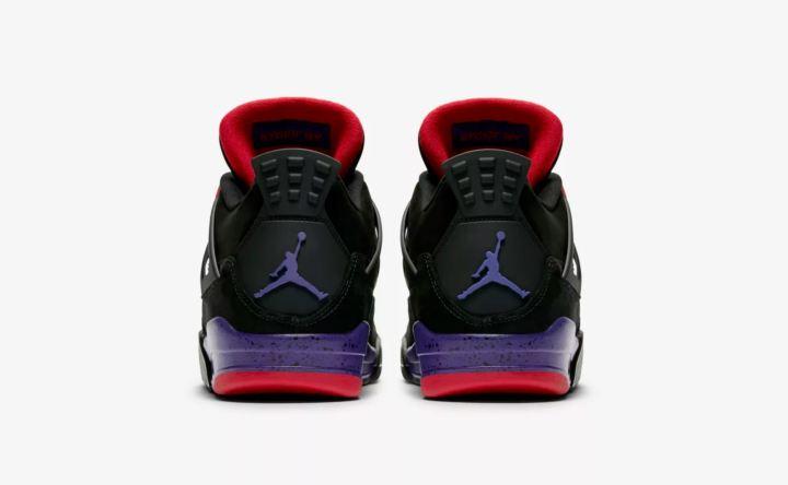 air jordan 4 black court purple release date 2