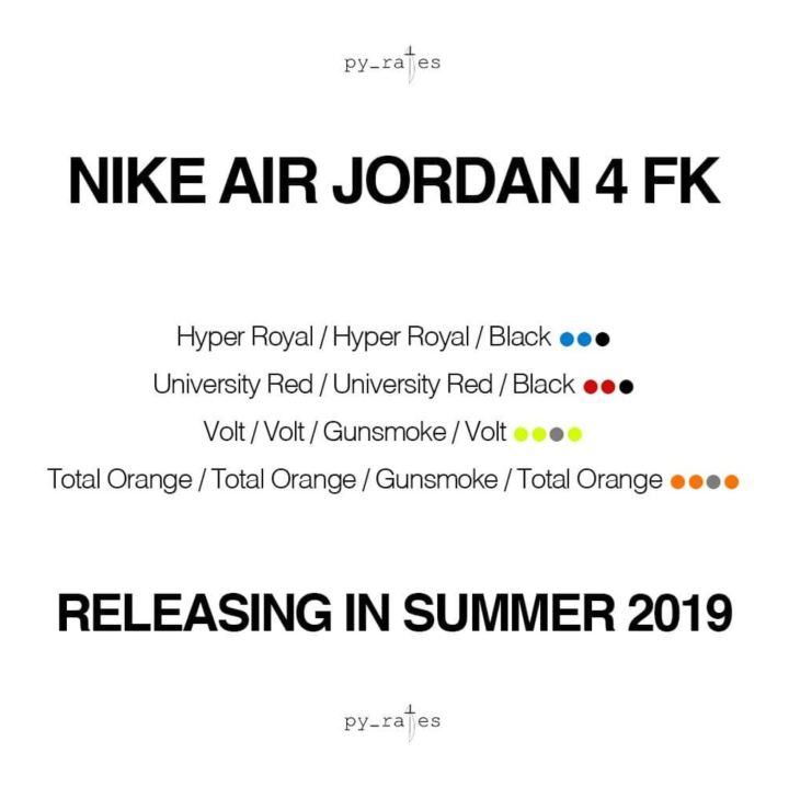 air jordan 4 flyknit rumor