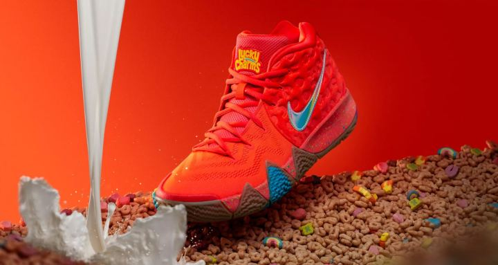 96434b96d060 Nike Unveils Kyrie 4  Cereal Pack  with Lucky Charms