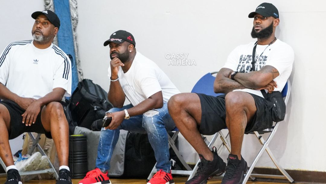 14e6e97166a It s Official  Cassy Athena Spots LeBron James in the LeBron 16 ...