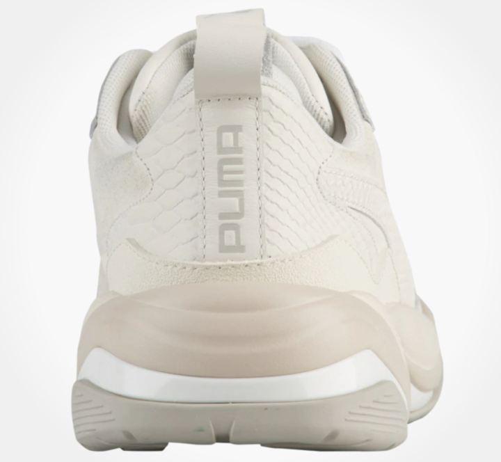 puma thunder desert white heel
