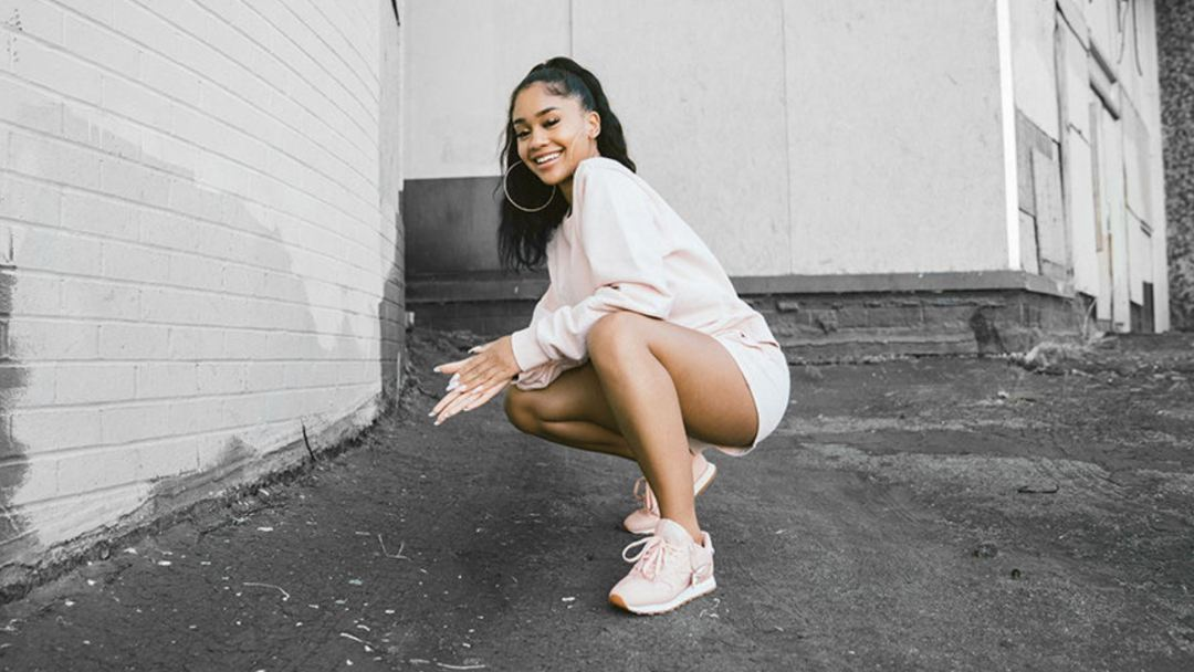 reebok alter the icons saweetie