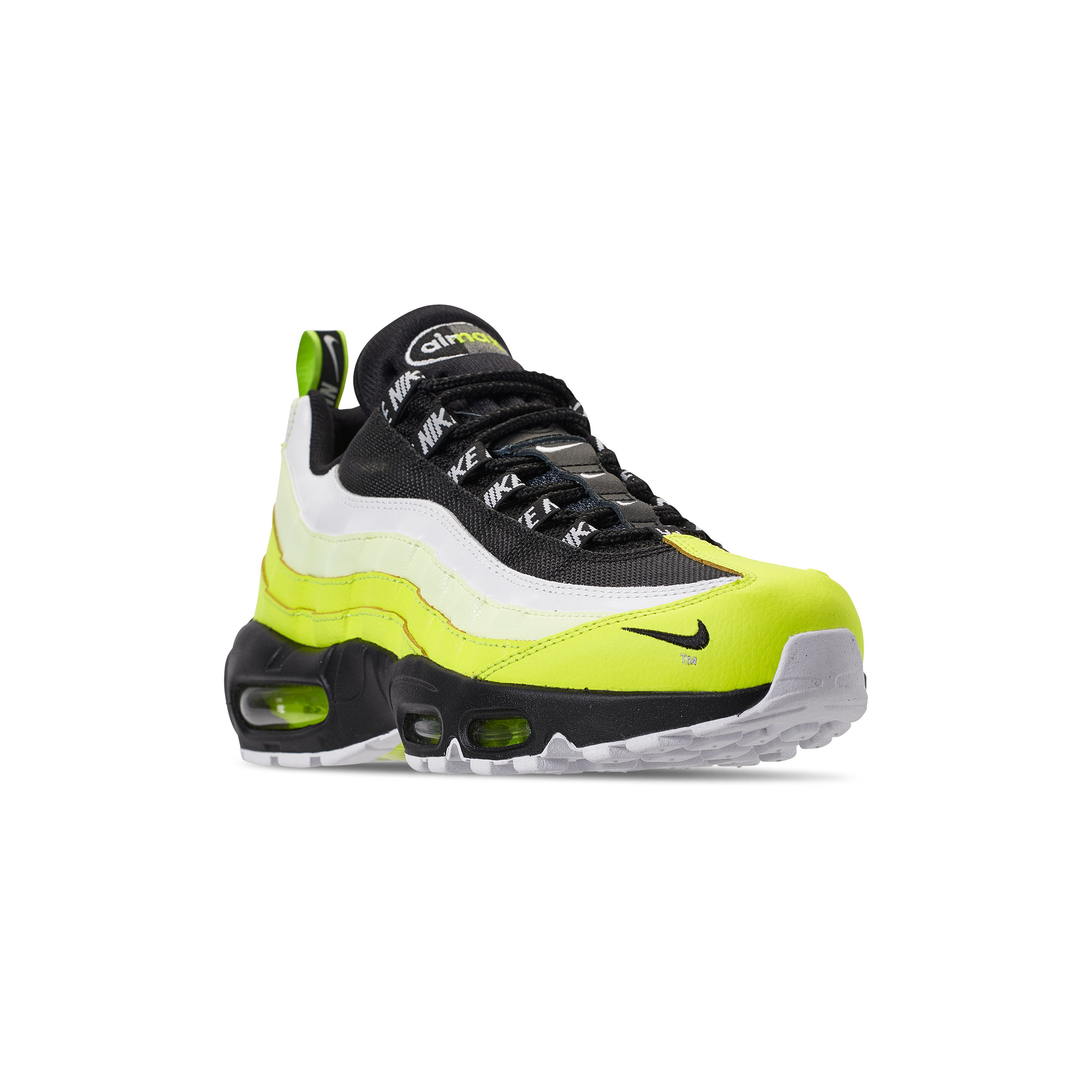 2a99e0391f5 NIKE AIR MAX 95 PREMIUM VOLT   BLACK-VOLT GLOW-BARELY VOLT OFF WHITE ...
