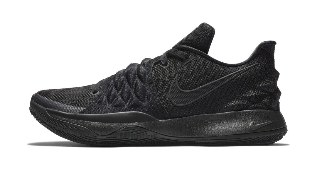 755601bac5d3 Nike Kyrie Low  Triple Black  is Dropping Soon - WearTesters
