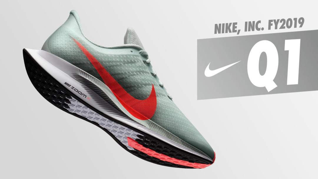 6910eee74010 Nike Sees Major Growth in Fiscal 2019 First Quarter Earnings ...