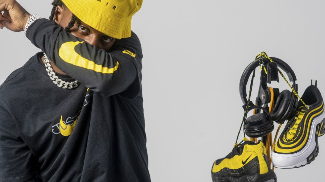 reputable site 86d3c 51971 Nike Air Frequency Pack Celebrates  90s Hip-Hop with Playboi Carti ...