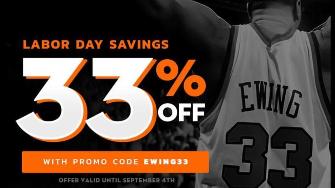 ewing athletics labor day sale