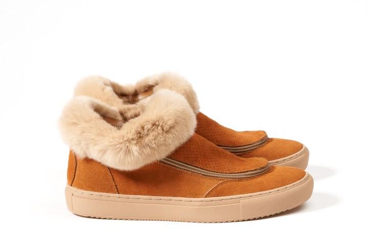 fini shoes fur modular sneakers