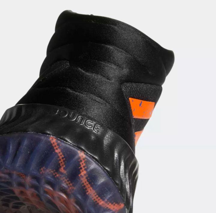 kristaps porzingis PE adidas pro bounce heel