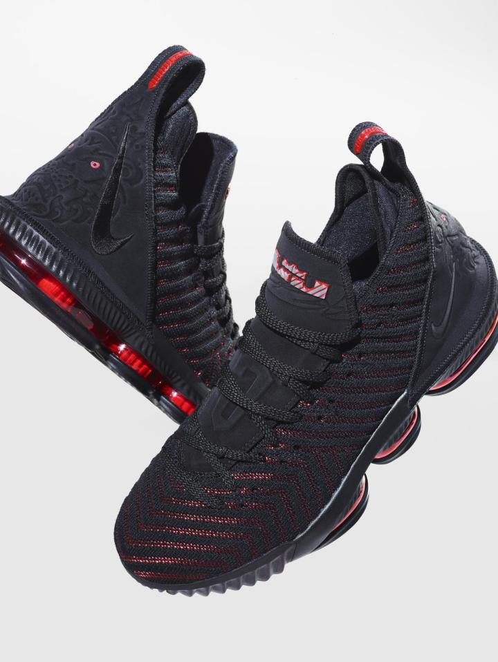 The LeBron 16 'Fresh Bred', LeBron James' Latest Sneaker ...