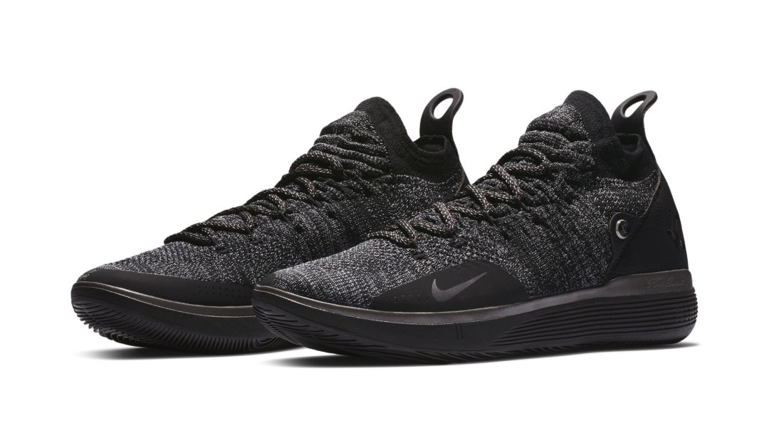 a30ccd455d86 The Nike KD 11  Triple Black  Has Dropped - WearTesters