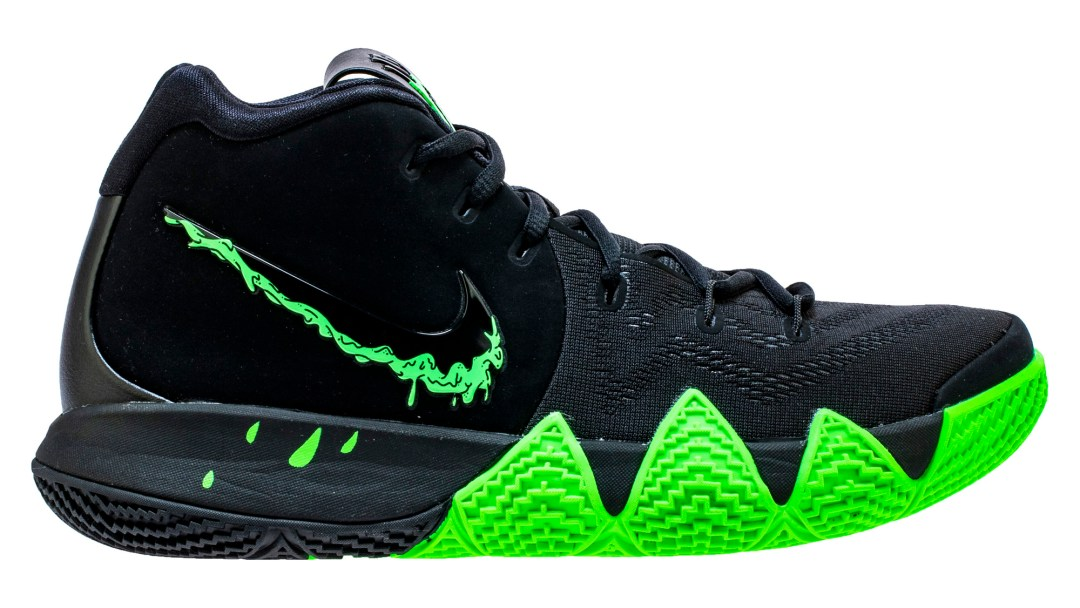 91fc66aefe714 Kyrie Irving s Latest Kyrie 4 Gets Slimed - WearTesters