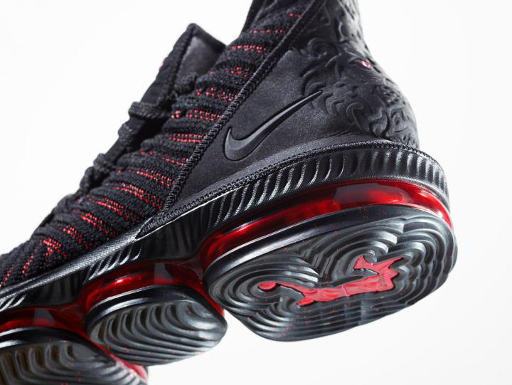 8b309704383b LeBron James  LeBron 16  Fresh Bred  Introduces Battleknit 2.0 and ...