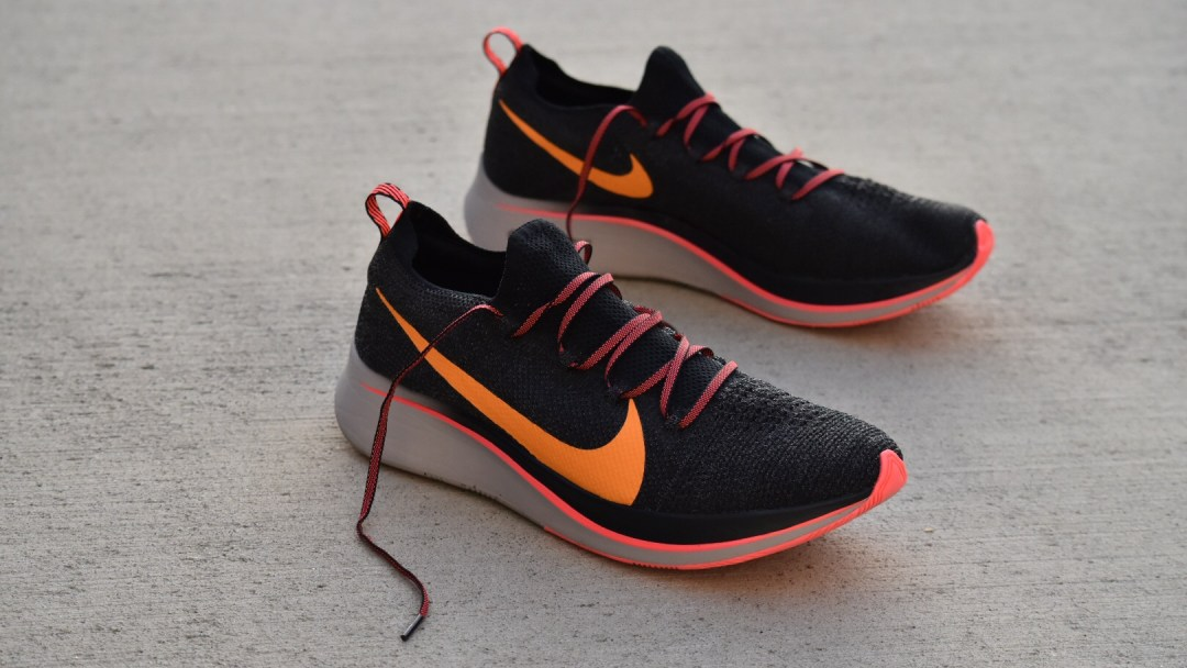 buy popular 57497 3d044 nike zoom fly flyknit first impressions