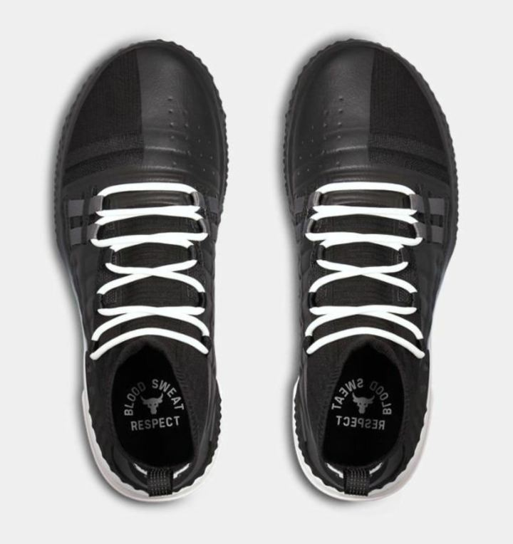 under armour project rock 1 black white