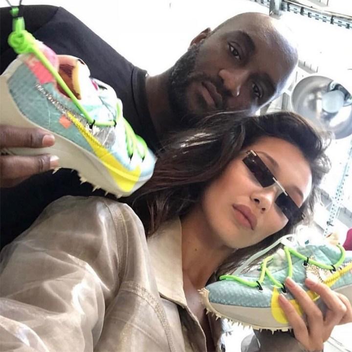 virgil abloh off white nike sneaker misplaced checks