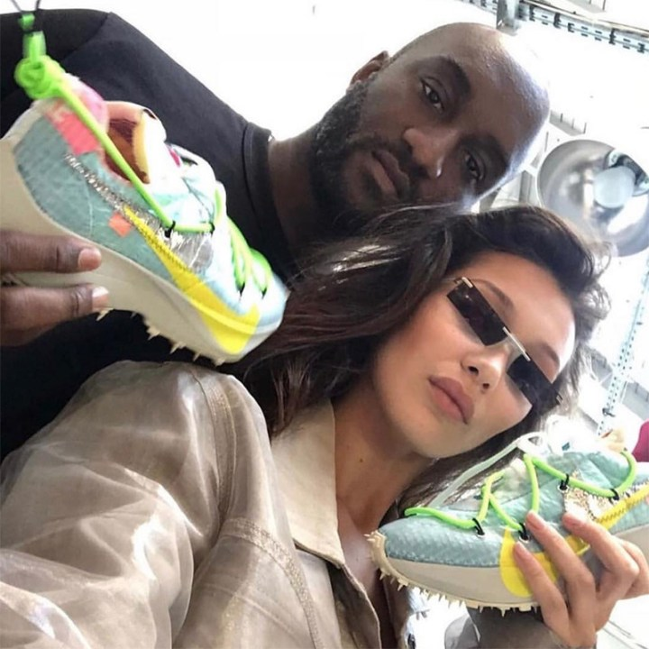 virgil abloh off white nike sneaker misplaced checks