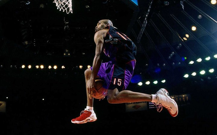 AND1 tai chi dunk contest vince carter