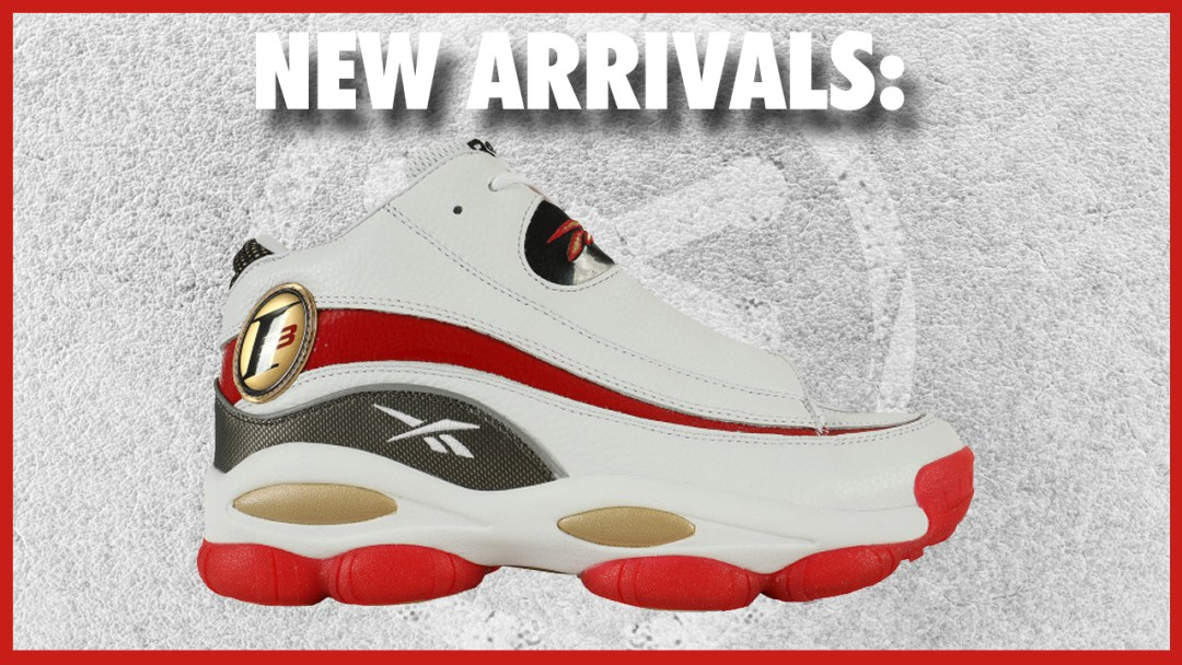 the latest 263ab 860ce The Reebok Answer 1 White/Red Has Landed Stateside - WearTesters