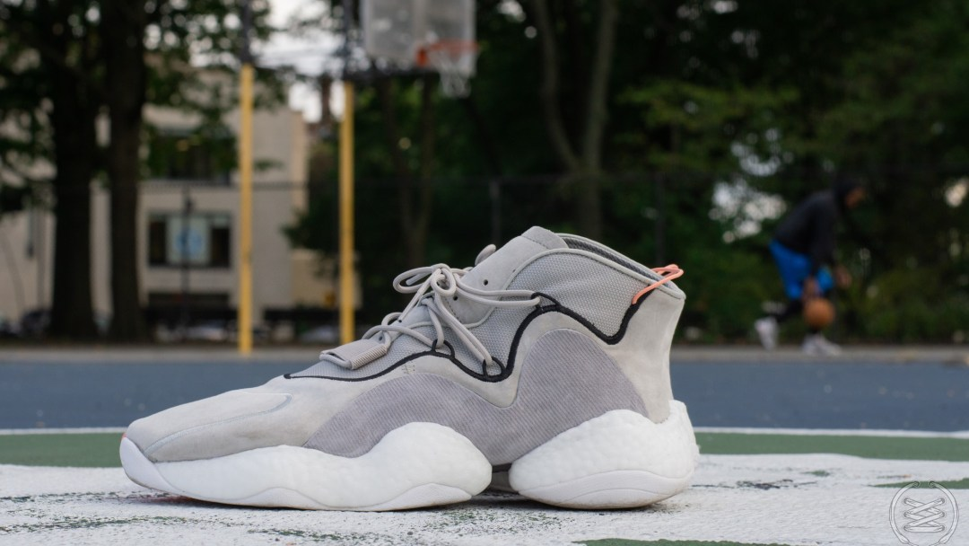 low priced c03b5 a1c9e Test Shoot  adidas Crazy BYW  Sesame  Finish Line Exclusive ...