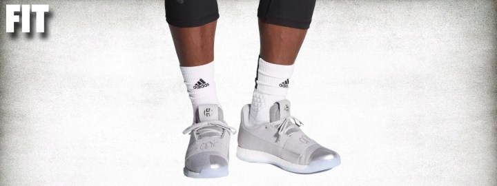 adidas harden vol 3 performance review fit