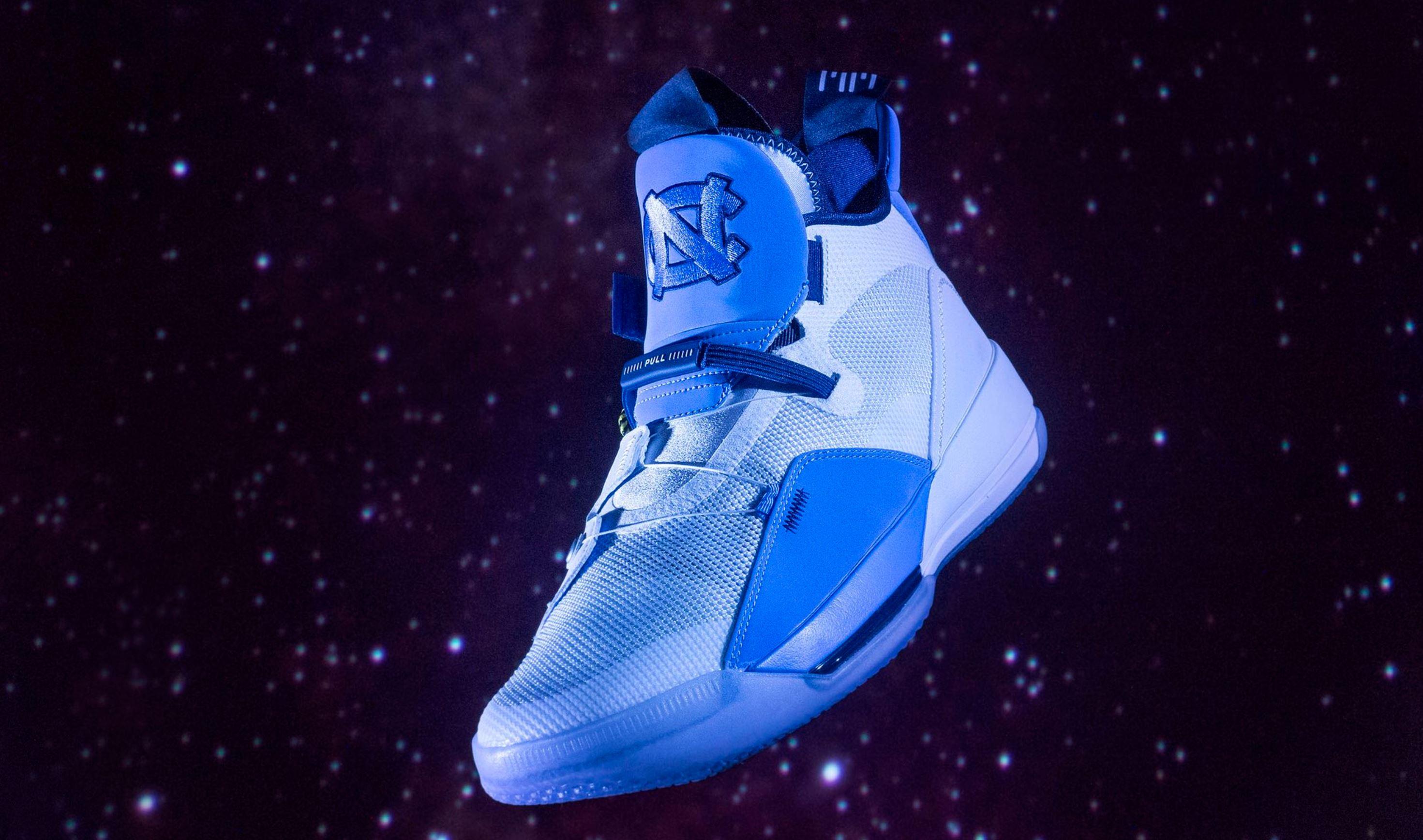 quality design ff4e3 c03fd air jordan 33 UNC basketball · Jordan Brand   Kicks On Court ...