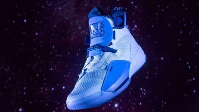 ef6a4bea5d4f62 The Tar Heels Unveil Their Air Jordan 33 UNC PE