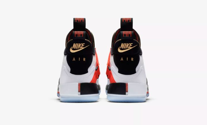 air jordan 33 future flight heel