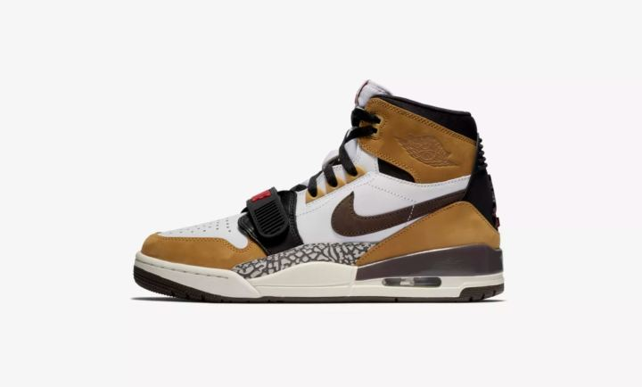 air jordan legacy 312 wheat varsity red