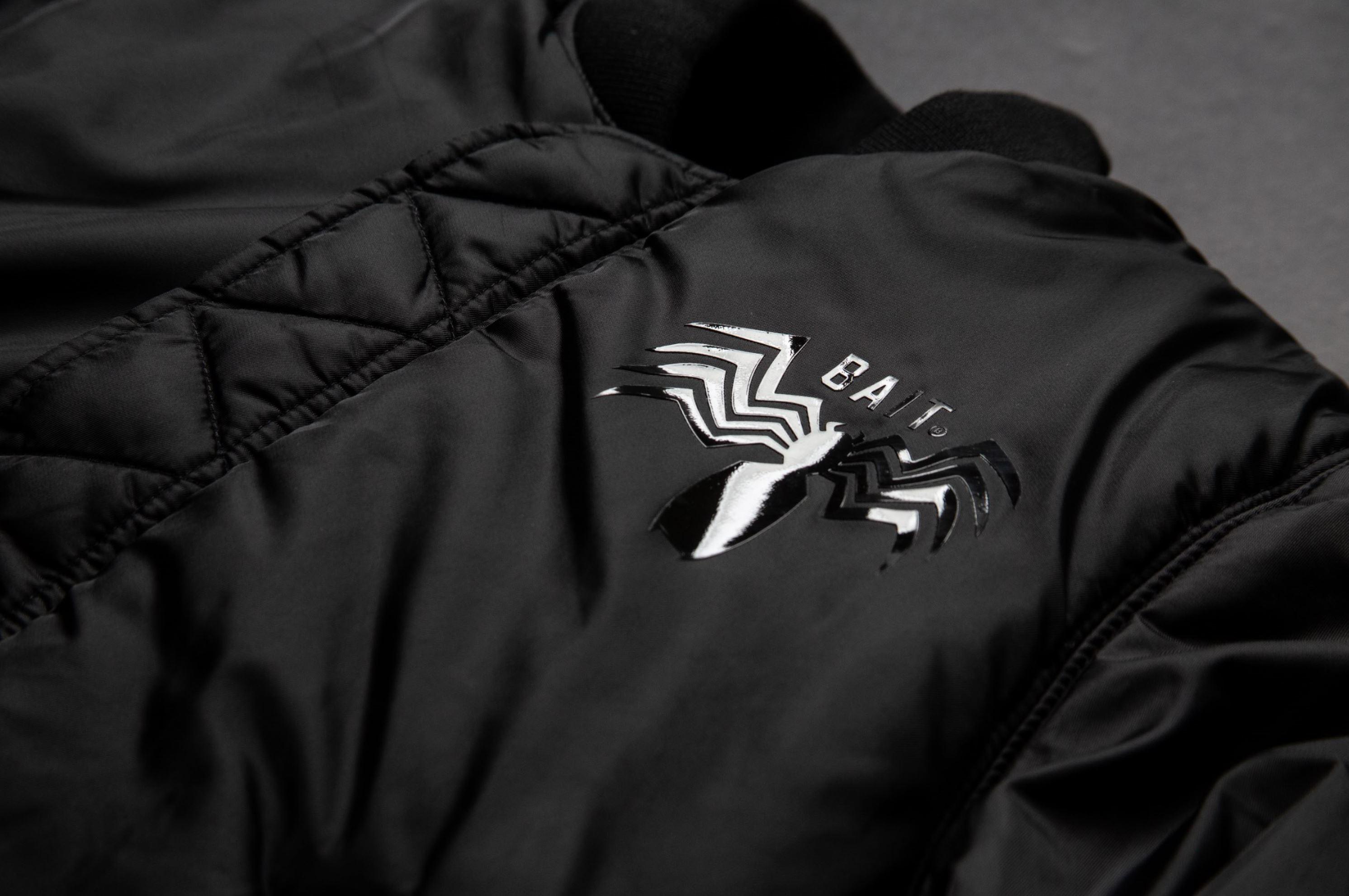 3f4ae9fb7989b5 bait marvel venom alpha industries MA-1 reversible jacket - WearTesters