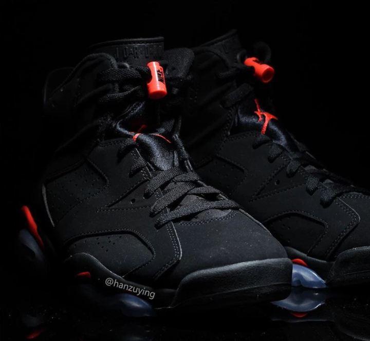 48defa6af4de83 The Air Jordan 6  Black Infrared  to Release in February for All ...