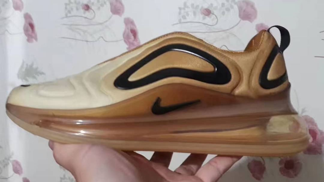 0a86e6fee453 Gold Nike Air Max 720 Leaks Online - WearTesters