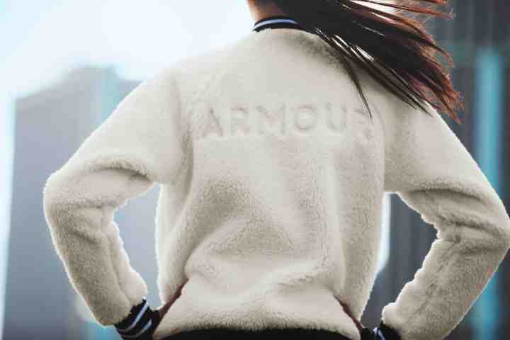 under armour ua exclusives be seen FW18 Women Sherpa Bomber