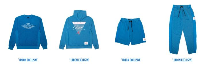 union jordan flight collection apparel union exclusive