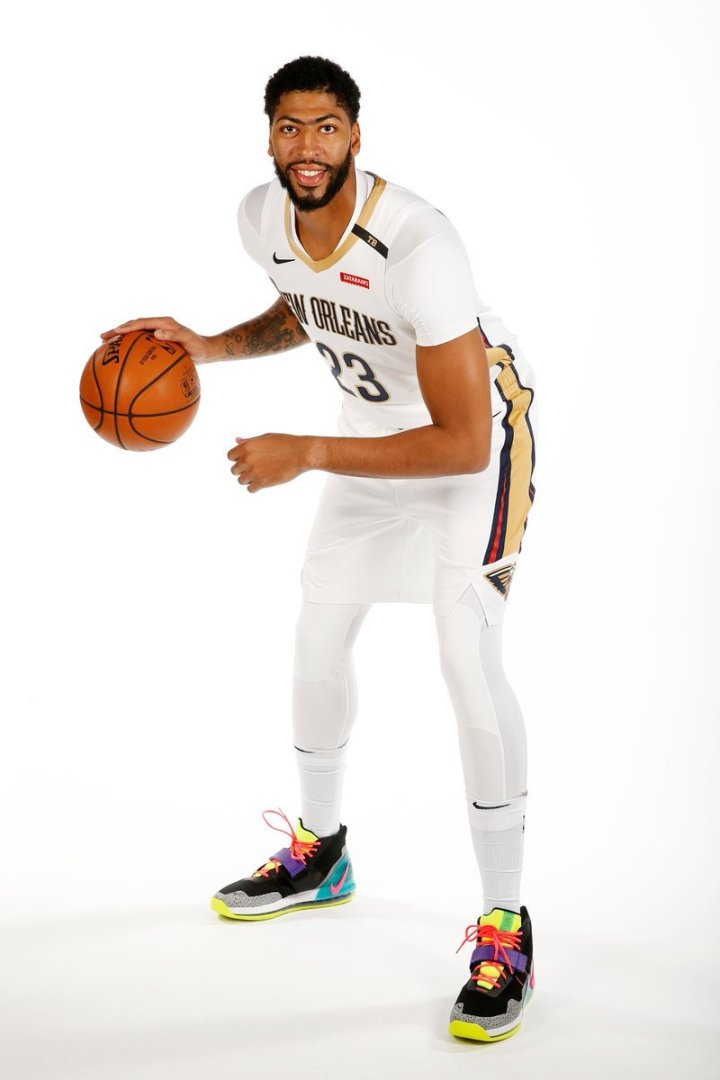 a4b8104de27b71 Anthony Davis  NBA Media Day Nike Air Force Max is Available Now ...