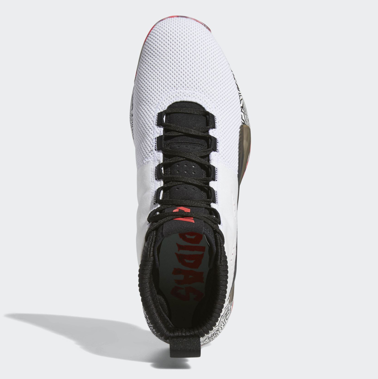 on sale 8690c 4e9d2 adidas-Dame-5-White-Black-Pink-5