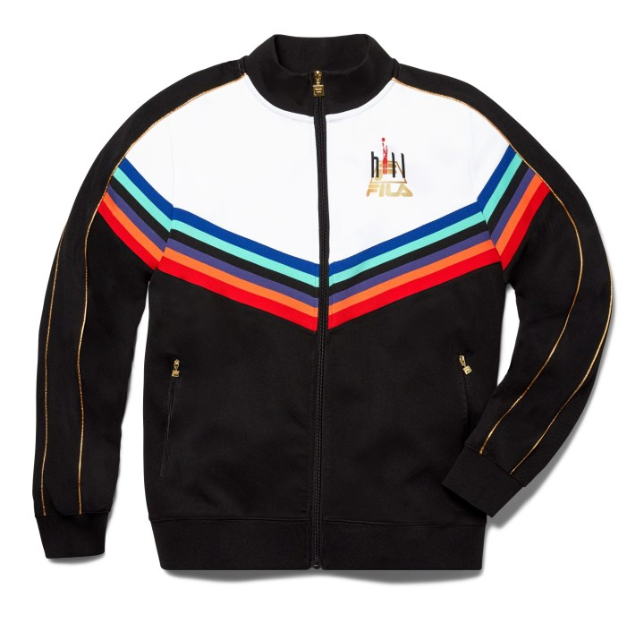 fila grant hill prism warm up jacket