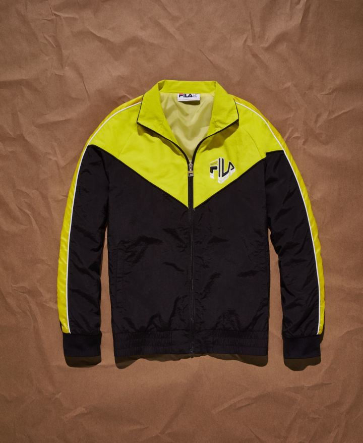 german silva fila collection malcolm track jacket