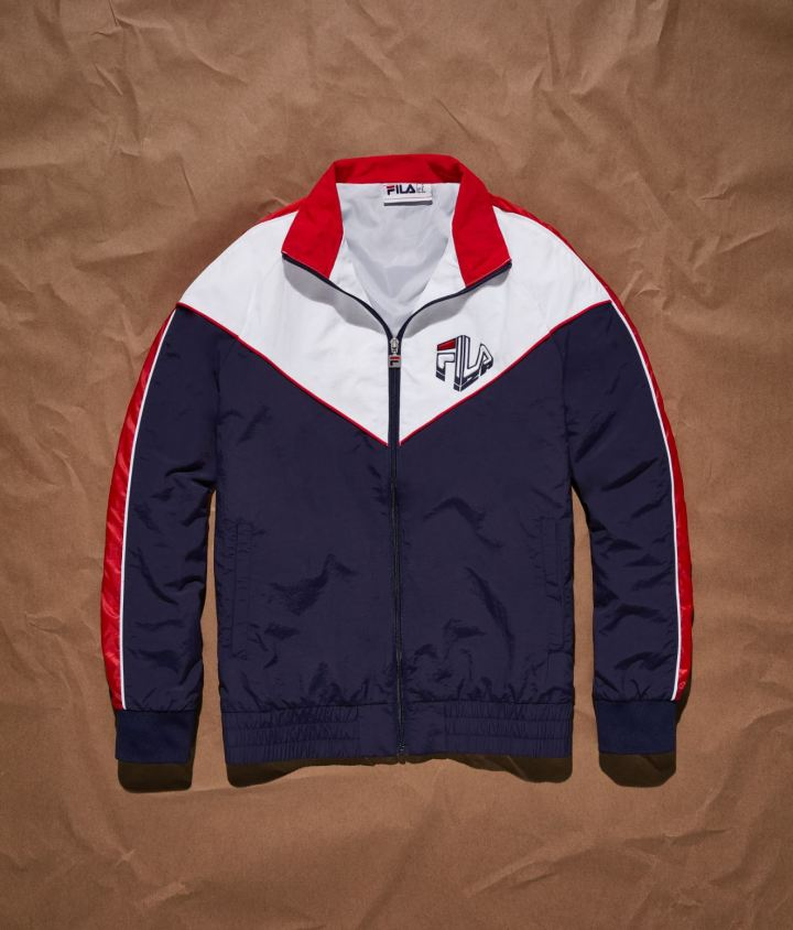 german silva fila collection track jacket