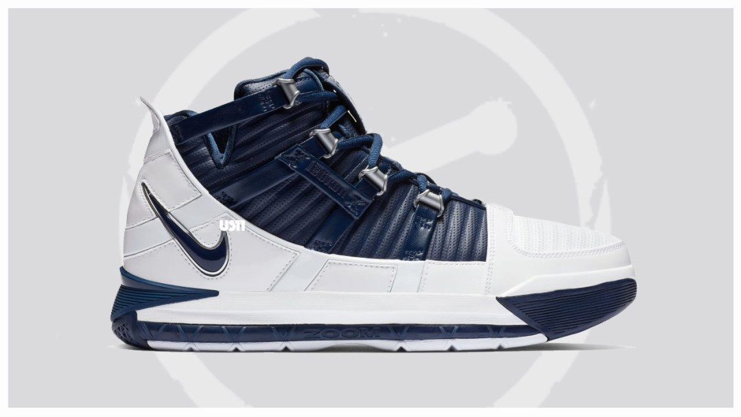 0d80e24afda The Nike Lebron 3 QS White Navy Could be Releasing - WearTesters
